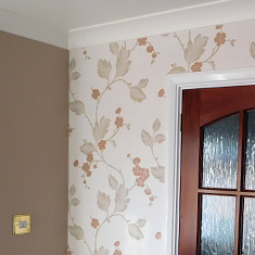 Wallpapering services in dunmow